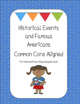 Famous Americans and Historical Events