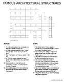 Famous Architectural Structures - Crossword Puzzle