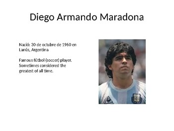 Famous Argentinians Powerpoint