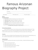 Famous Arizonan Biography Project