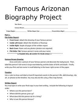 Famous Arizonan Biography Project