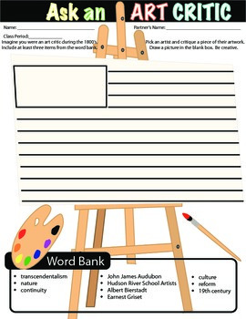 Famous Art & Authors Worksheets/Printables:Dickinson,Whitm