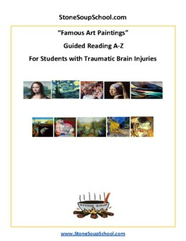 Famous Art Paintings For Students with TBI Traumatic Brain Injuries