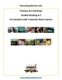 Guided Reading, Levels A-Z: Famous Art For Students w/ TBI