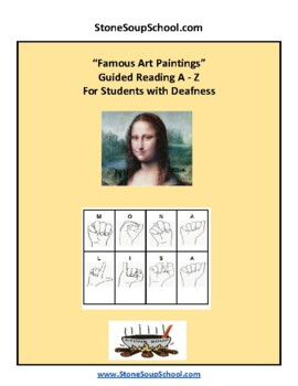 Famous Art Paintings for Students w/ Deafness