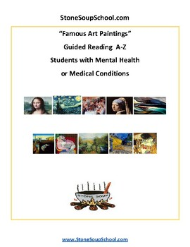 Famous Art Paintings for Students with Mental Health or Medical Conditions