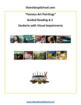 Famous Art Paintings for Students with Visual Impairments