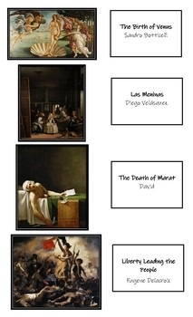 Famous Art Pieces (15)