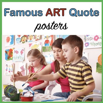 Famous Art Quote Posters