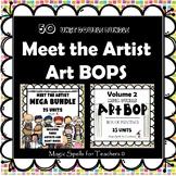 Famous Artist Art & Bio Units - 50 Units Bundle -DISTANCE