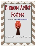 Famous Artist Posters