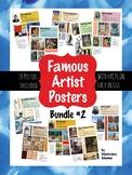 Famous Artist Posters Bundle #2