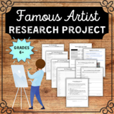 Famous Artist Research Project