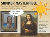 Famous Artists Art Lessons: Summer Masterpieces Adaptable