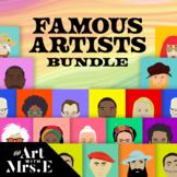 Famous Artists // Bundle