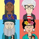 Famous Artists Classroom Posters Bundle (30 artists)