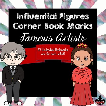 Famous Artists Corner Book Marks