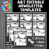 Famous Artists Newsletter Templates