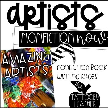 Famous Artists Nonfiction book and writing
