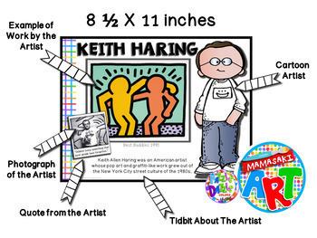 Famous Artists Poster Set (GROWING SET)