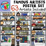 Famous Artists Poster Set (GROWING SET)