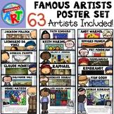 Famous Artists Poster Set