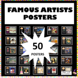 Famous Artists Posters - 25 Art Posters