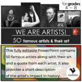 Famous Artists PowerPoint