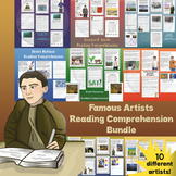 Famous Artists Reading Comprehension Bundle