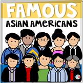 Famous Asian Americans Clip Art Set