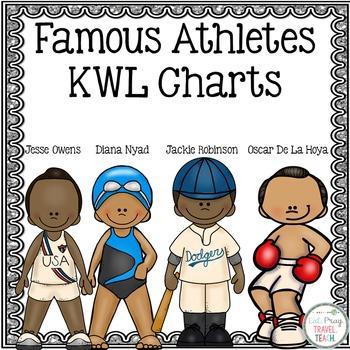 Famous Athletes KWL Charts