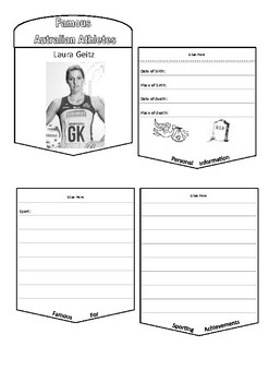 Famous Aussie Sports Stars - flipbooks