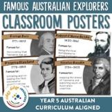 Famous Australian Explorers Posters
