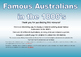 Famous Australians 1800's ACARA History
