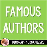 Famous Authors Research Organizers