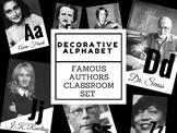 Famous Authors Alphabet (For English Teachers!)