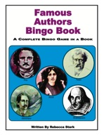 Famous Authors Bingo Book
