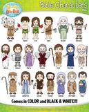 Famous Bible Characters Clipart {Zip-A-Dee-Doo-Dah Designs}
