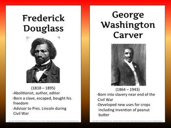Famous Black Americans Bulletin Board