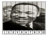 Famous Black Americans Number Order and Skip Counting Puzzles