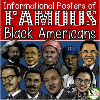 """Famous Black Americans Posters and 5 x 4"""" Trading Cards"""
