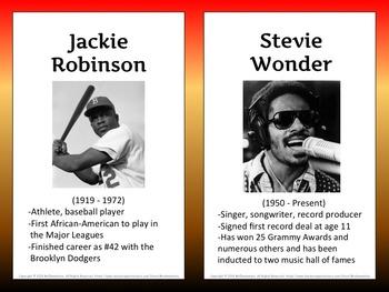 Famous Black Americans PowerPoint