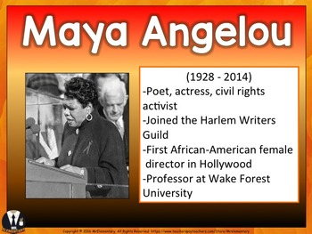 Famous Black Americans PowerPoint