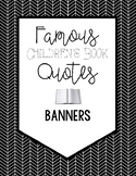 Famous Book Quotes Banner