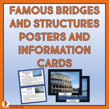 Famous Bridges and Structures Posters and Information Cards
