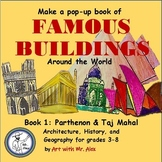 Famous Buildings Around the World Book 1: Parthenon and Taj Mahal