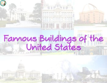 Famous Buildings of the United States Book