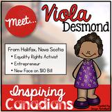 Famous Canadian: Viola Desmond