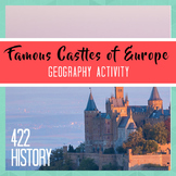 Famous Castles of Europe Geography Activity