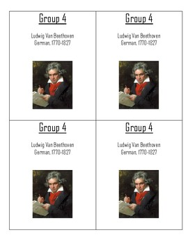 Famous Composer Group Labels
